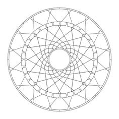 Coloring Mandalas: 27 Dreamcatcher