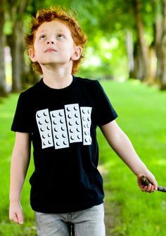 "NEW Kids ""Lego Black Flag"" Tee Shirt By Hatch For Kids - Children's Clothing Punk Rock Legos Tshirt - Size 2t, 4t, 6t, 8, 10, 12. $24.00, via Etsy."
