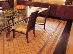 A Lajota tradicional de cerâmica ainda é uma boa escolha para o revestimento de pisos internos e externos
