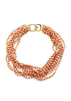 On ideeli: KENNETH JAY LANE Beaded Multi-Strand Necklace