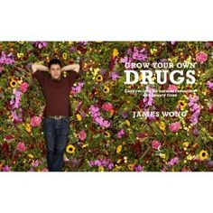 Grow Your Own Drugs by James Wong. Love him. Love his book. Love his garden. I wanna be just like him.