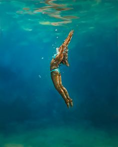 "Gallery Henoch - Eric Zener - Angel Rising, Oil on Canvas, 60"" x 48"""