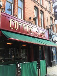 Coffee shop Dublin
