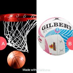 Basketball or netball Click here to vote @ http://getwishboneapp.com/share/7592310