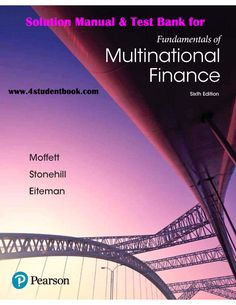 Free download chemistry a molecular approach 4th edition by solution manual test bank for fundamentals of multinational finance 6th edition product details by michael h moffett author arthur i stonehill fandeluxe