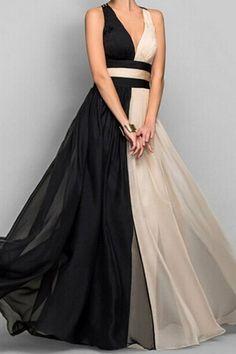 Elegant Nude + Black