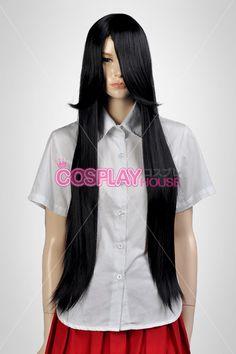 General Wigs -- Synthetic Wigs - Black Medium Wigs