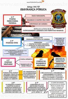 Art. 144.  Segurança Pública  - dever do Estado, direito e responsabilidade de todos, é exercida para a preserva...