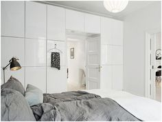 IKEA Besta storage system that acts as an arch