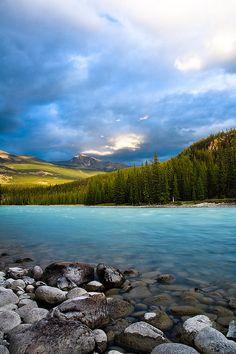 Athabasca River ~ Alberta, Canada