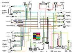[SCHEMATICS_48DE]  8 Best Scooter wiring diagram images | scooter, chinese scooters, diagram | 2013 Gy6 50cc Wiring Diagram |  | Pinterest