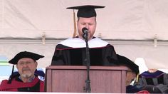 I love him the truth but still funny and inspirational Joss Whedon '87 - Wesleyan University Commencement Speech - Official