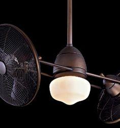 Gyro Indoor / Outdoor Ceiling Fan F402-ORB