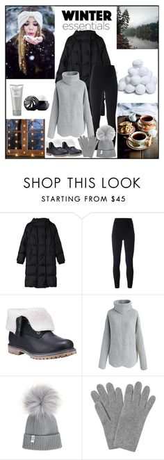 """""""Winter essentials: puffer jacket"""" by danniss ❤ liked on Polyvore featuring Gérard Darel, adidas Originals, Timberland, Chicwish, L.K.Bennett, Eos and Laura Mercier"""