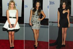 Pretty Little Liars Red Carpet i love their dresses and love the show