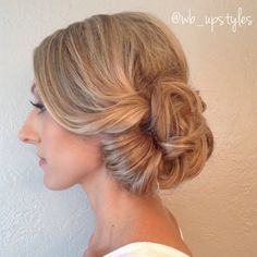 Beautiful wedding hairstyle #wb_upstyles