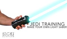 Step by Step Instructions on How to Build Your Own Lightsaber from Steve Spangler Science. PS It's really awesome!!