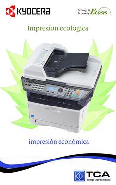 impresión económica, impresión ecológica