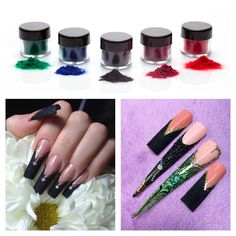 Decoration for acrylic and gel nails http://store.liliumstudio.com