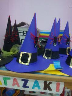 αποκριατικα καπελα halloween hats Carnival Crafts, Carnival Costumes, School Carnival, Activities For Kids, Halloween, Hats, Blog, Decor, Face Paintings