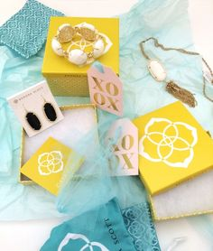 A Beautiful Kendra Scott Mess on www.mhouseofstyle.com Couture Accessories, Kendra Scott, Cute Outfits, Gift Wrapping, Seasons, House, Beautiful, Style, Pretty Outfits