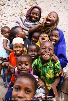 Unforgettable faces from Mikindani, southern Tanzania