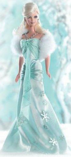 Tiffany Christmas Barbie ~Debbie Orcutt ❤