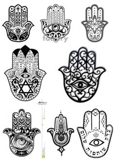 Mao de fatima Hamsa Tattoo, Mandala Tattoo, Time Tattoos, Small Tattoos, Hamsa Design, Tulip Tattoo, Wiccan Jewelry, Henna Tattoo Designs, Hand Of Fatima