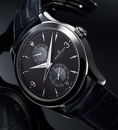 Jaeger-LeCoultre the Master Hometime Aston Martin watch (PR/Pics http://watchmobile7.com/data/News/2013/06/130610-jaeger-lecoultre-Master_Hometime_Aston_Martin.html) (1/2) #watches