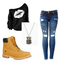 """Untitled #5"" by ajvoecks-1 on Polyvore featuring Timberland"