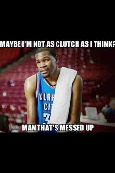 If you don't already know, I hate Kobe. I'm not much of a hater but when it comes to basketball, you don't mess with me about my teams. Kevin Durant is my man. Basketball Funny, Basketball Teams, Dont Mess With Me, Sports Fanatics, Best Fan, Oklahoma City Thunder, Team Player, Kevin Durant, Just Amazing
