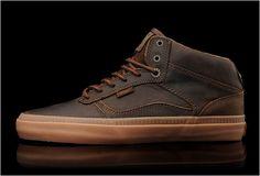 Vans OTW Leather Bedford   Brown & Gum