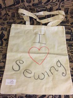 Love sewing tote bag www.etsy.com/shop/sewinlovebymadiacom