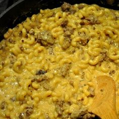 Homemade Taco Hamburger Helper Recipe - Key Ingredient