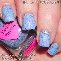 Lazy Lacquerista: Aussie Nails Monday :: Blue/Green :: Peita's Polish strikes again!