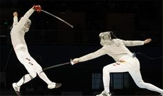 How to Score a Touch in Epee Fencing #stepbystep