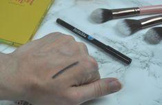Jonteblu Waterproof Eyeliner Kajal Boxycharm Waterproof Eyeliner, Makeup Swatches, Beauty, Makeup Samples, Cosmetology