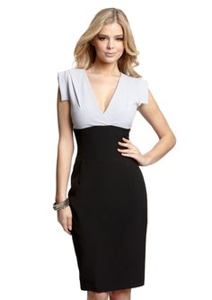 Great work dress!  SINGLE V-Neck Vera Dress