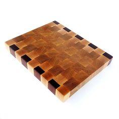End grain cutting boards.