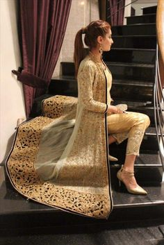 trendy Ideas party dress ideas pakistani Source by sukritij dresses party Pakistani Wedding Dresses, Pakistani Dress Design, Pakistani Bridal, Pakistani Outfits, Indian Outfits, Dress Wedding, Pakistani Fashion Party Wear, Party Wedding, Pakistani Couture