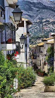 Altea, Alicante. spain
