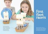 First fleet racers Captain Cook Australia, Year 4 Classroom, Diy For Kids, Crafts For Kids, First Fleet, Ship Craft, Learning Stations, School 2017, Stem Challenges