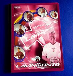 "LAVINOTINTO School Notebook 9.75"" x 7.50"" 200 Pages Journal Venezuelan Football #NORMA"