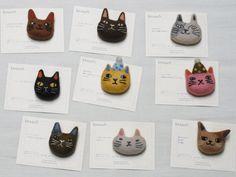 Cat Brooch | by Felt Fulling Lab