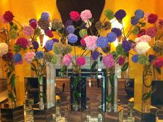 Flowers in Lobby of the Berkeley Hotel - London