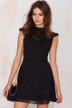 Nasty Gal Francois Ruffle Dress | Shop Clothes at Nasty Gal!