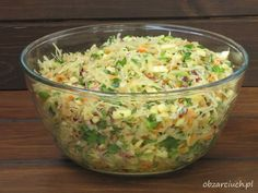 Appetizer Salads, Appetizers, Polish Recipes, Coleslaw, Kraut, Guacamole, Potato Salad, Healthy Lifestyle, Food And Drink