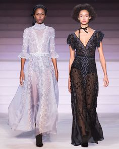 Discover signature Temperley London embellished gowns, embroidered long dresses, effortless matching sets and embroidered evening gowns in the Evening Edit. Organza Flowers, Embellished Gown, Winter 2017, Fashion 2017, Evening Gowns, Ivory, Delicate, Carving, Embroidery