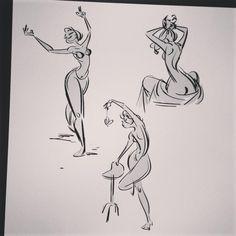 gesture drawing from Brayden @braydensketch