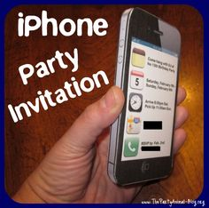 How to Make a 3D iPhone Party Invitation